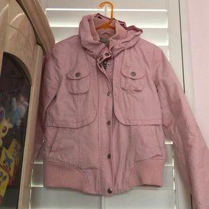 Meters/bonwe light pink jacket